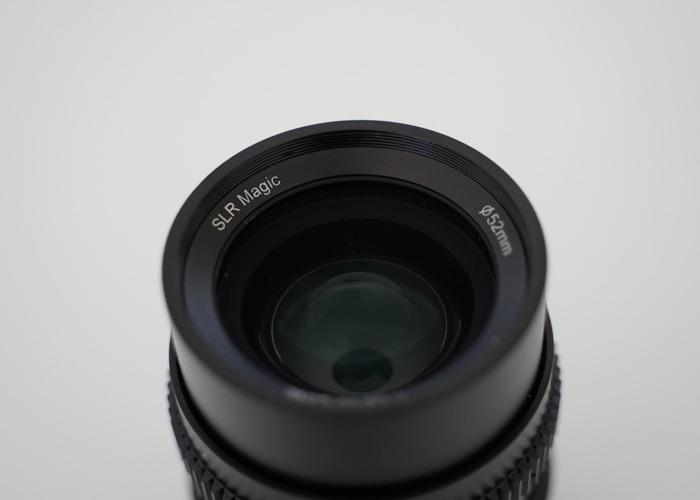 SLR Magic CINE 35mm F1.2 Lens (Sony FE Mount) - 2