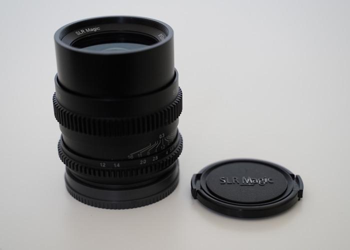 SLR Magic CINE 35mm F1.2 Lens (Sony FE Mount) - 1