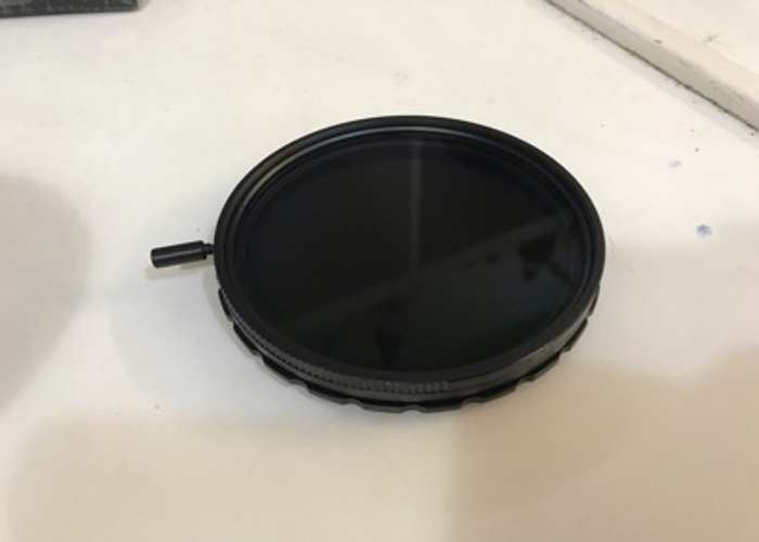 SLR magic variable ND filter for anamophic 1.33x - 1