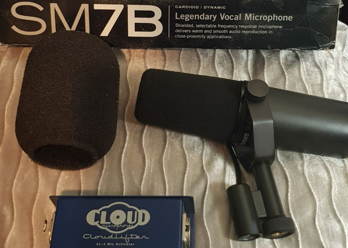 SM7B + Cloudlifter CL-1 Mic activator - 1