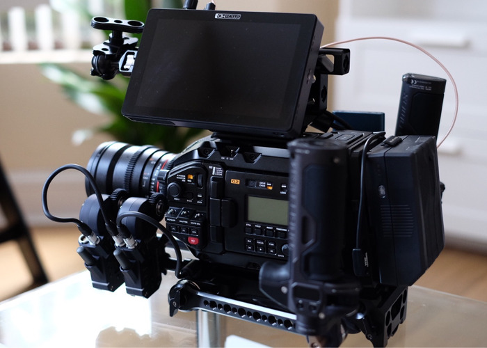 Small HD 702 Touch Camera Monitor SDI HDMI  - 2