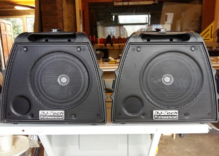 Pa system - 200 watt, 4 channel mixer - 1