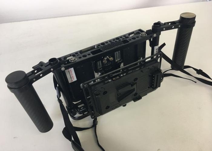 SmallHD 702 Bright w/Handheld Cage - 2