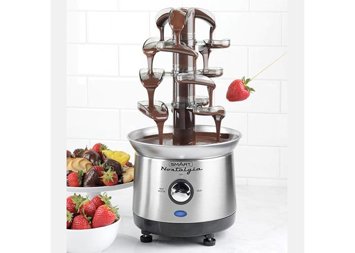 Smart Cascading Fondue Chocolate Fountain - 1
