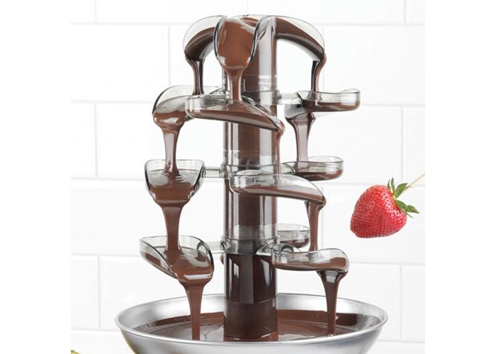 Smart Cascading Fondue Chocolate Fountain - 2