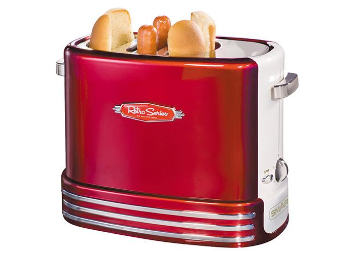 Smart Red Retro Pop-Up Hot Dog Toaste - 1