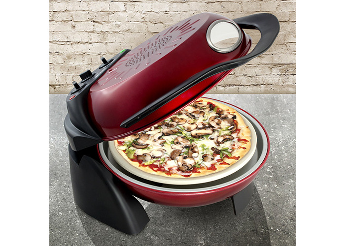 Smart Rotating Stone and Grill Pizza Oven - 1