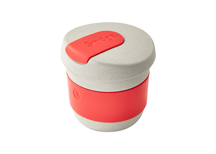 Smidge Coffee Cup, 230ml, Sand & Coral - 1