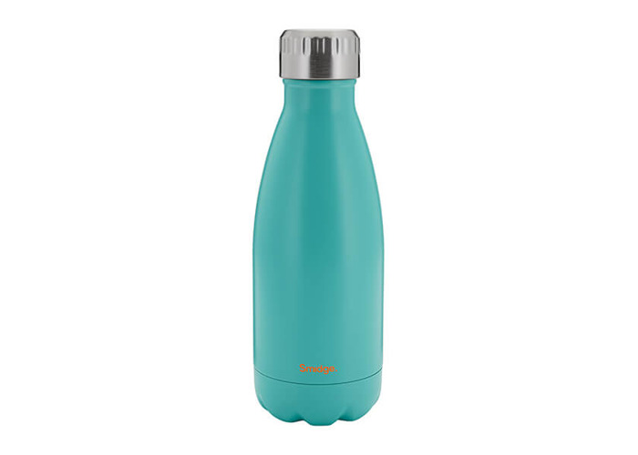 SMIDGE SMID20A Aqua Double Walled Bottle, Stainless Steel, 325 milliliters - 1