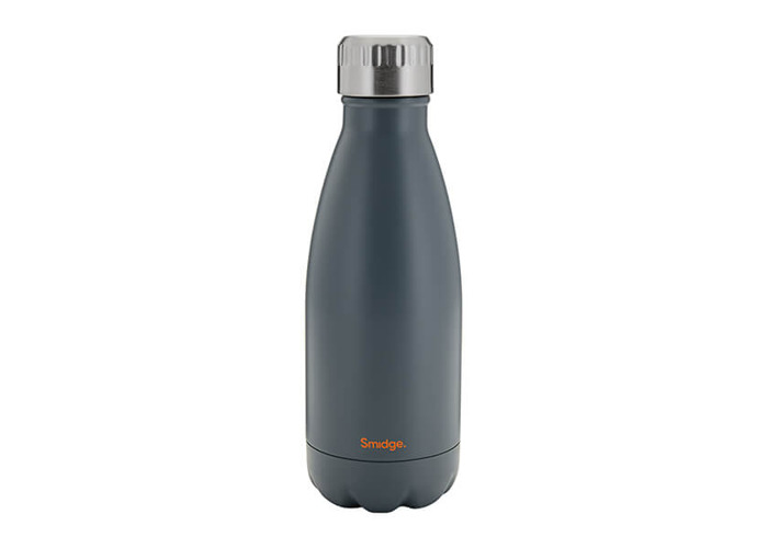 SMIDGE SMID20G Storm Grey Double Walled Bottle, Stainless Steel, 325 milliliters - 1