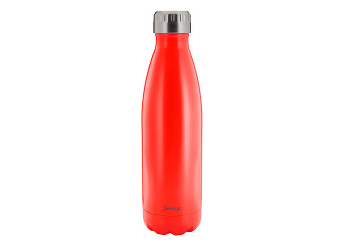 SMIDGE SMID22C Coral Double Walled Bottle, Stainless Steel, 450 milliliters - 1