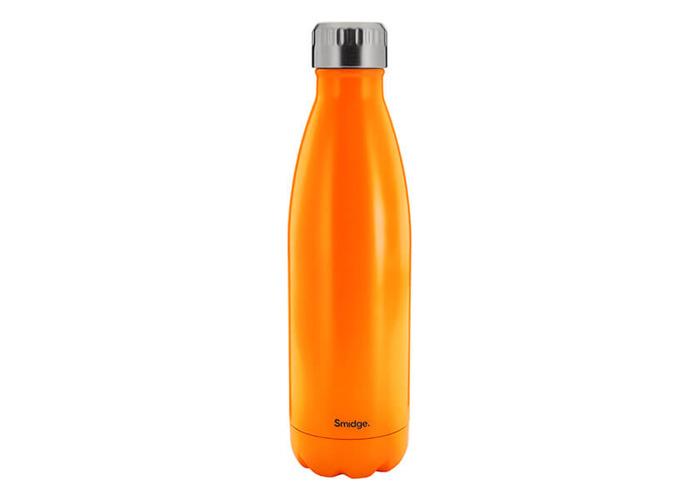 SMIDGE SMID22CI Citrus Double Walled Bottle, Stainless Steel, 450 milliliters - 1