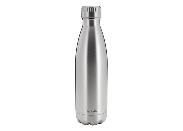 SMIDGE SMID22S Double Walled Bottle, Stainless Steel, 450 milliliters - 1