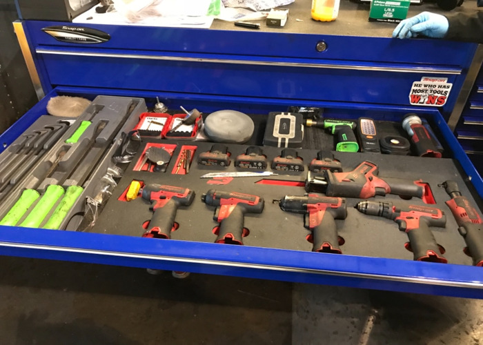 Snap on Tool Box and Tools  - 1