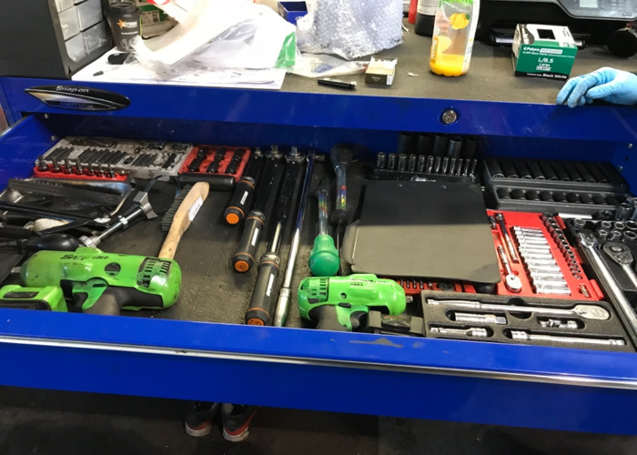 Snap on Tool Box and Tools  - 2