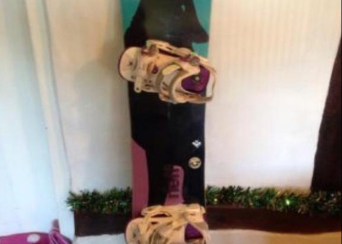 Snowboard roxy ally 143cm Solomon bindings medium  - 1