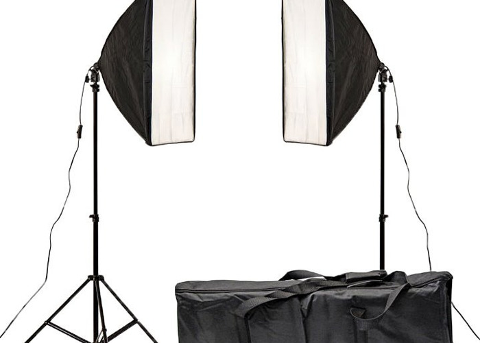Soft Box Lights x 2 - 1