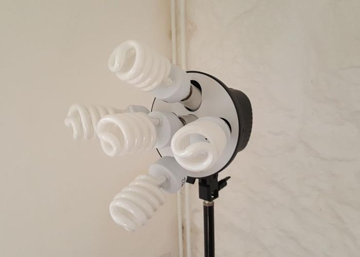 Soft Box Photography Studio Lighting Kit - 1