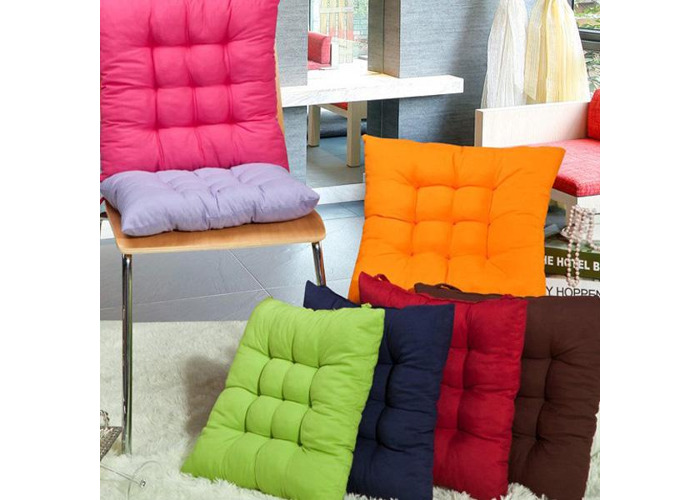 Soft Square Cotton Seat Cushion Home Sofa Office Chair Pillow - 2