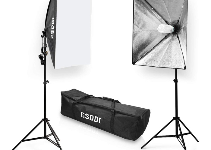 Softbox Studio Lights (800W) - 1