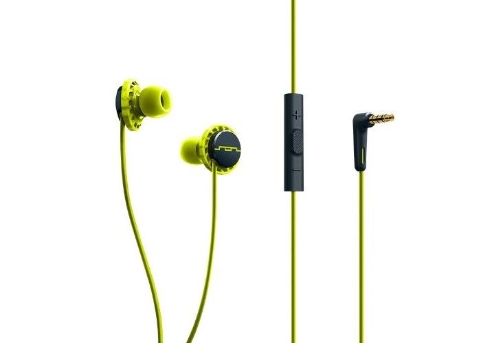 SOL REPUBLIC RELAYS 3 Button In Ear Headphones - Lemon Lime - 1