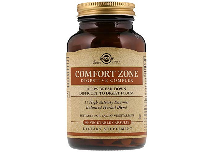 Solgar Comfort Zone Digestive Complex Vegetable Capsules - Pack of 90 - 1
