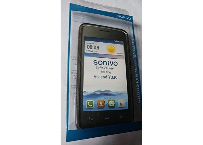 Sonivo Ascend Y330 Flex Guard Soft Gel Case - Black - 1