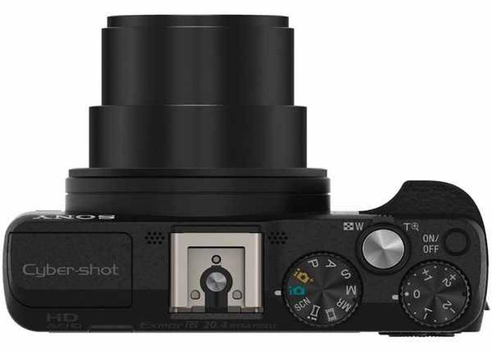 SONY - Cyber-shot HX60VB Superzoom Digital Camera - Black - 2