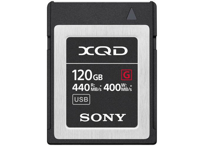 Sony 120GB XQD G Series Memory Card - 1