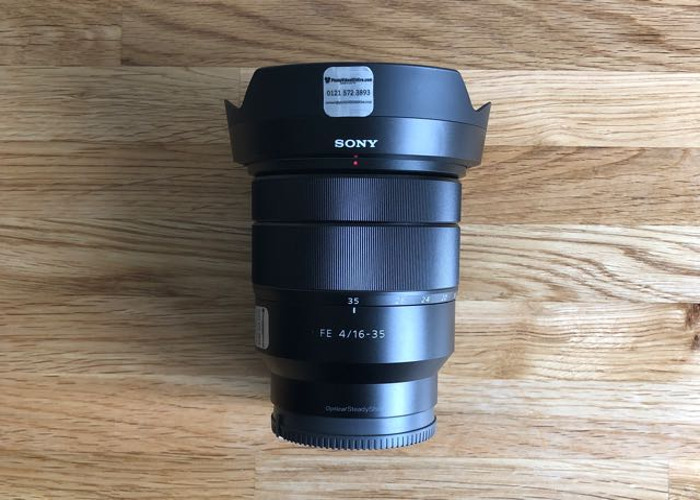 Sony 16-35 f4 Lens for hire rent E-Mount - 1