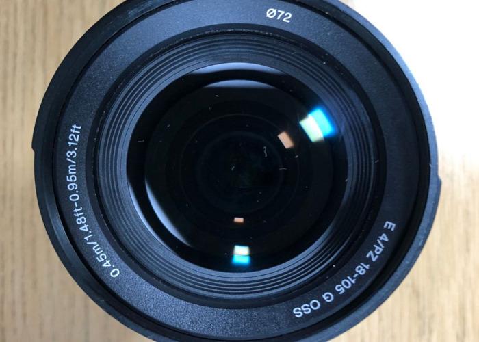 Sony 18-105mm f/4 G Lens - Power Zoom AF - 2