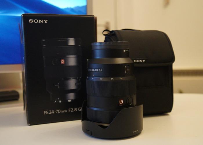 Sony 24 - 70 F2.8 G Master - 2