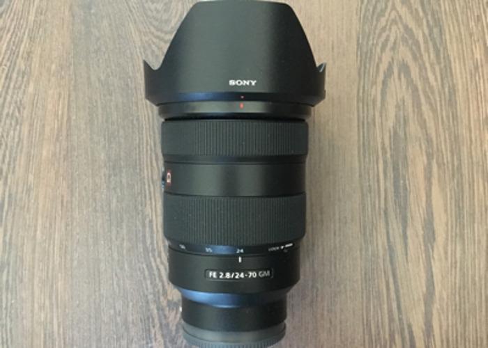 Sony 24-70 F2.8 G Master E Mount Lens A7S - 1