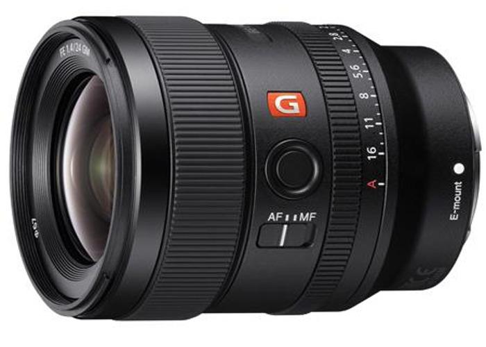 Sony 24mm GM f/1.4 prime lens for E-mount - 1