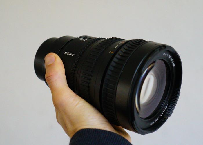 Sony 28-135mm F4 G OSS Cine Lens (E mount) - 2