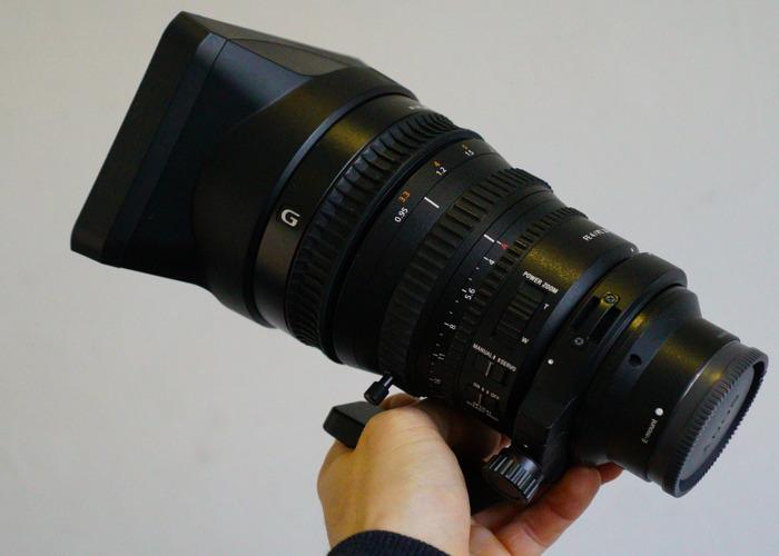 Sony 28-135mm F4 G OSS Cine Lens (E mount) - 1