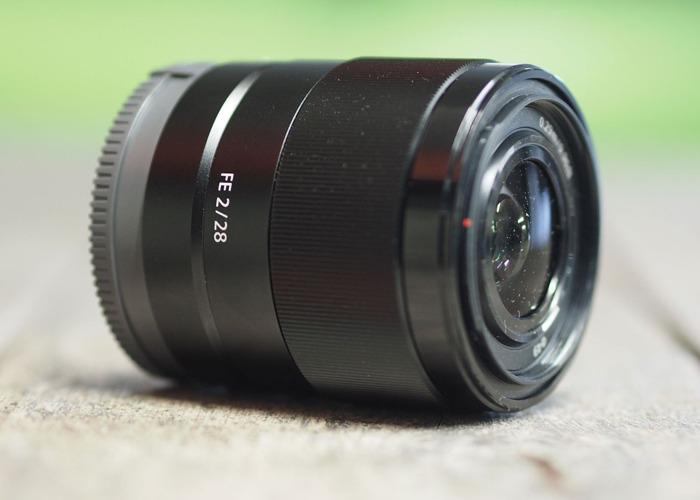 Sony 28mm f2 lens - 1