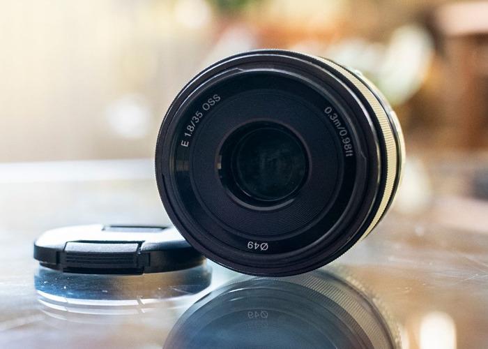 Sony 35mm f1.8 Prime Lens - 1