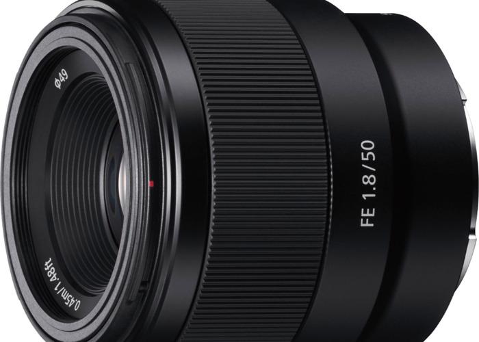 Sony 50mm 1.8 - 1