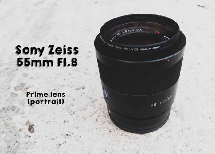 Sony 55mm f/1.8 Zeiss ZA  - 1