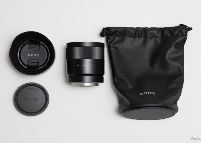 Sony 55mm Zeiss F1.8 lens - 1