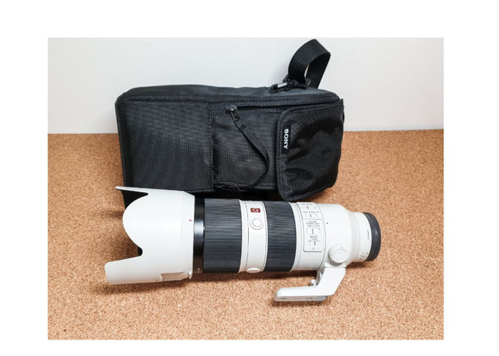 Sony 70-200 mm f 2.8 GM Lens - G master Sony 70 - 200  - 1