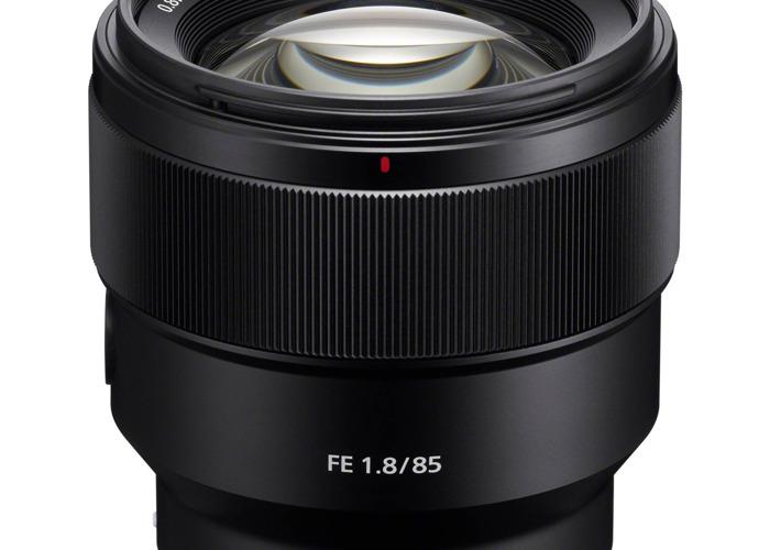 Sony 85mm 1.8 Prime Lense - 1