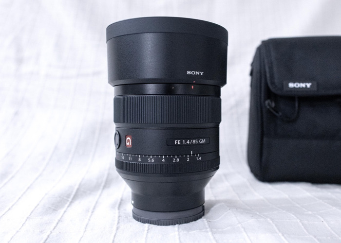 Sony 85mm f/1.4  GM (G Master) Portrait Lens - 1