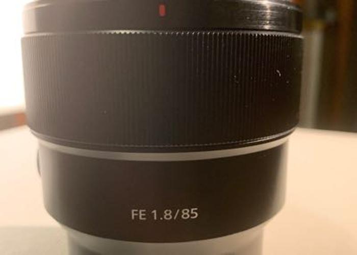 Sony 85mm F1.8 - 1