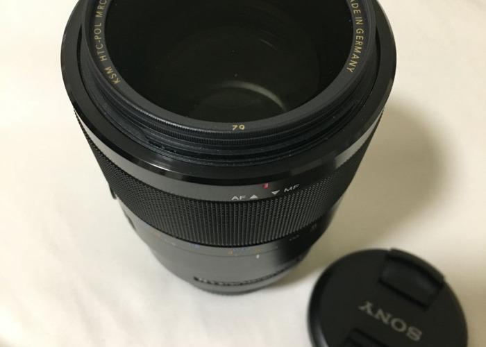 Sony 90mm f/2.8 macro lens - 2