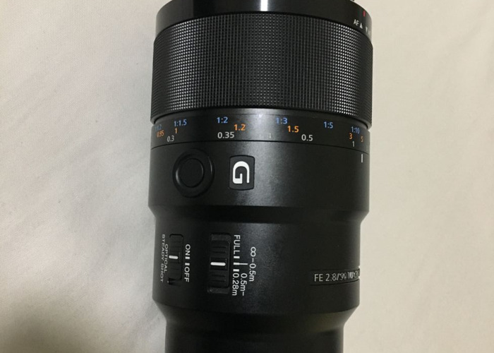 Sony 90mm f/2.8 macro lens - 1