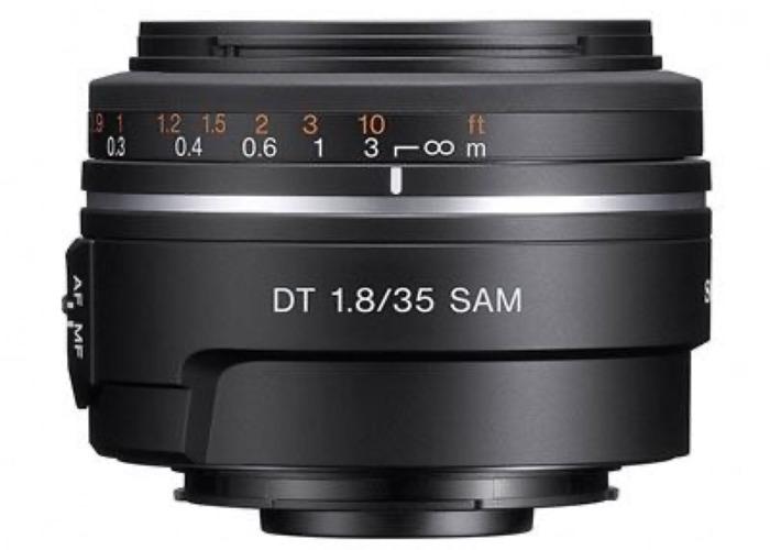 Sony A Mount 35mm f1.8 DT SAM Lens - 1