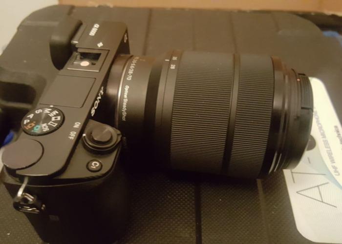 Sony A6000 Camera with SONY FE 28-70mm f/3.5-5.6 OSS Lens  - 1