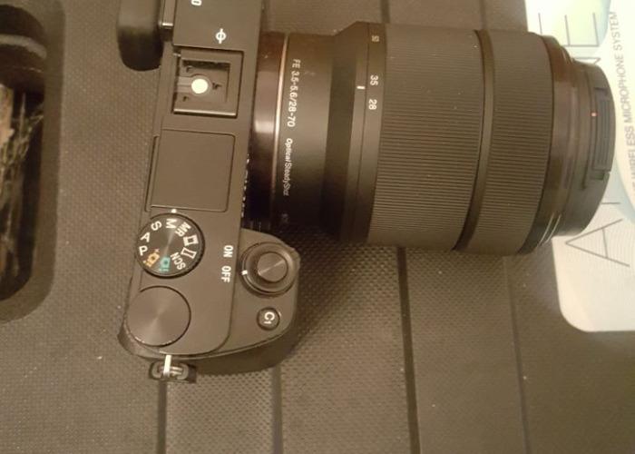 Sony A6000 Camera with SONY FE 28-70mm f/3.5-5.6 OSS Lens  - 2
